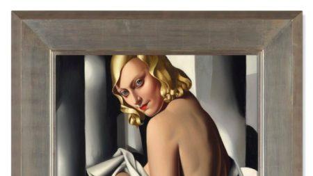 Tamara de Lempicka, 'Portrait de Marjorie