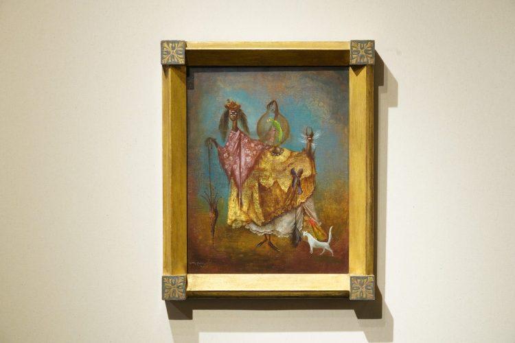 Leonora Carrington, 'La artista viaja de incognito,' 1949.