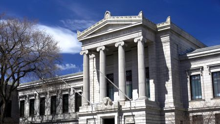 The Museum of Fine Arts.