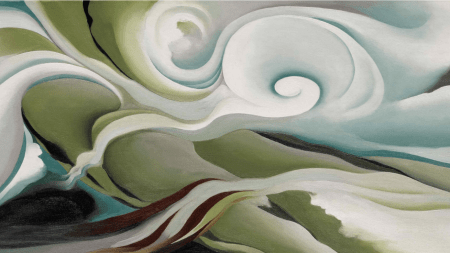 Georgia O'Keeffe, 'Nature Forms – Gaspé',