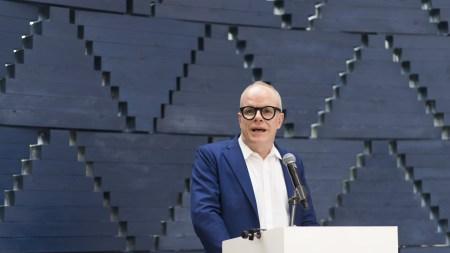 Hans-Ulrich Obrist, the artist director of