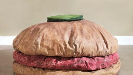Claes Oldenburg, 'Floor Burger', 1962.