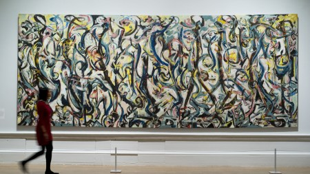 Jackson Pollock's 'Mural', 1943, at the