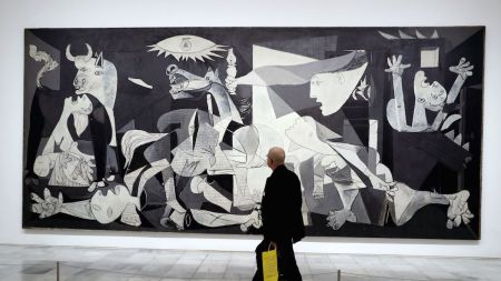 Picasso's 'Guernica' at the Museo Reina