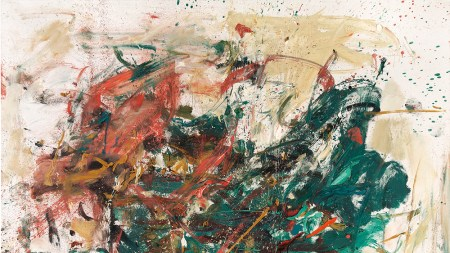 Joan Mitchell's Noël (1961–62), estimated at