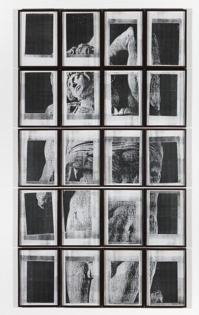 Hudinilson Jr., Untitled, ca. 1980s, photocopy on paper, 20 parts.