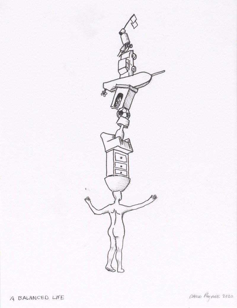 David Byrne, 'A Balanced Life', 2020.