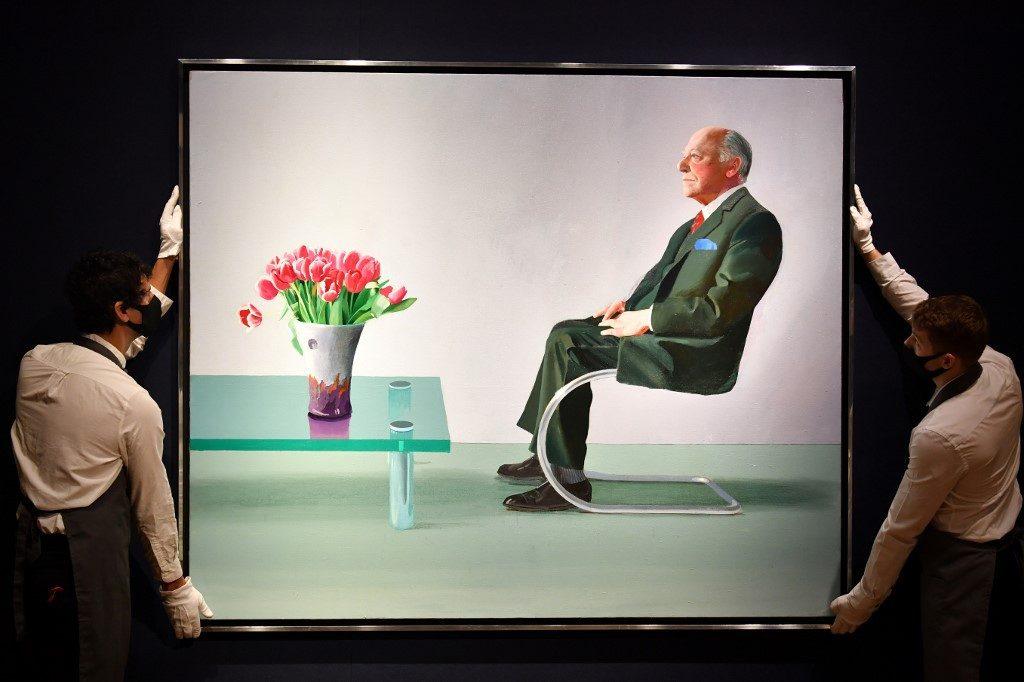David Hockney,'Portrait Of Sir David Webster',