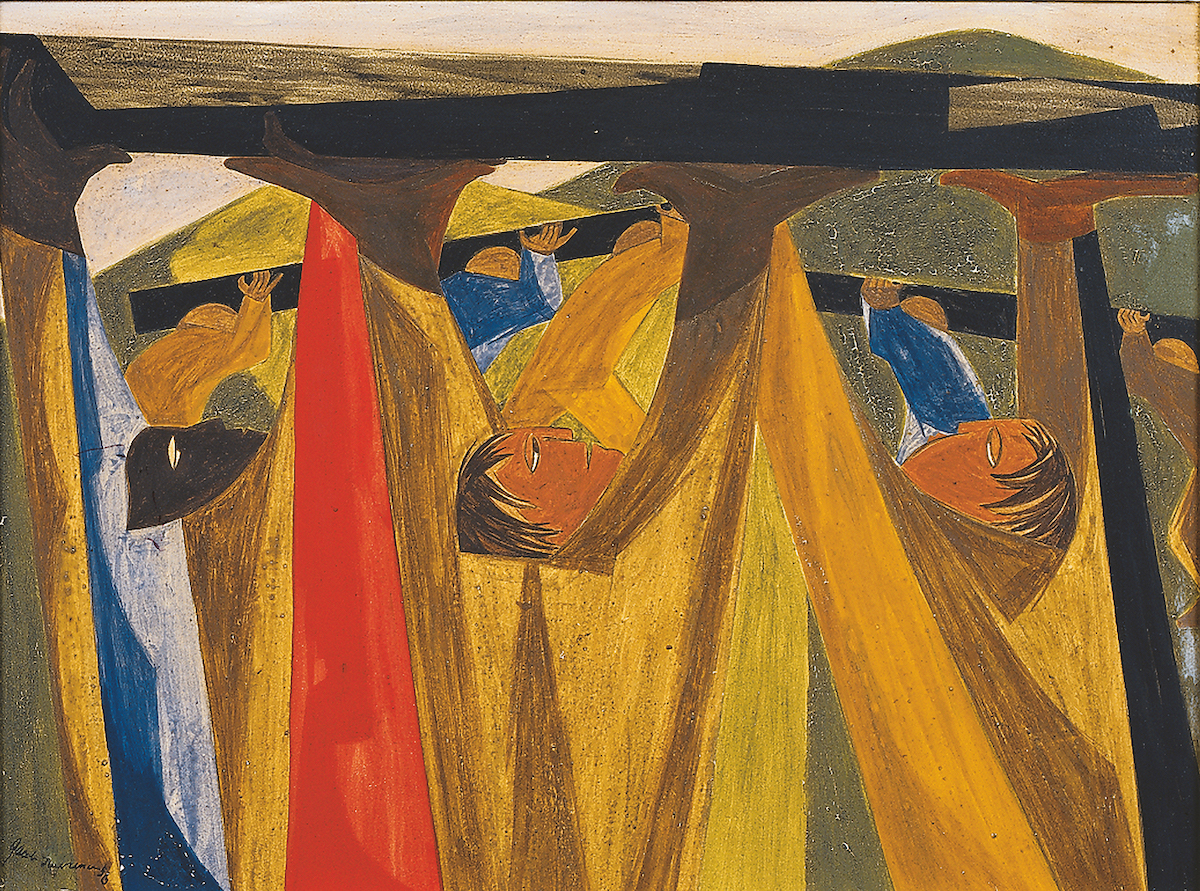 Jacob Lawrence, 'A cent and a