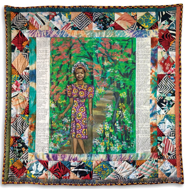 Faith Ringgold, Maya's Quilt of Life, 1989.