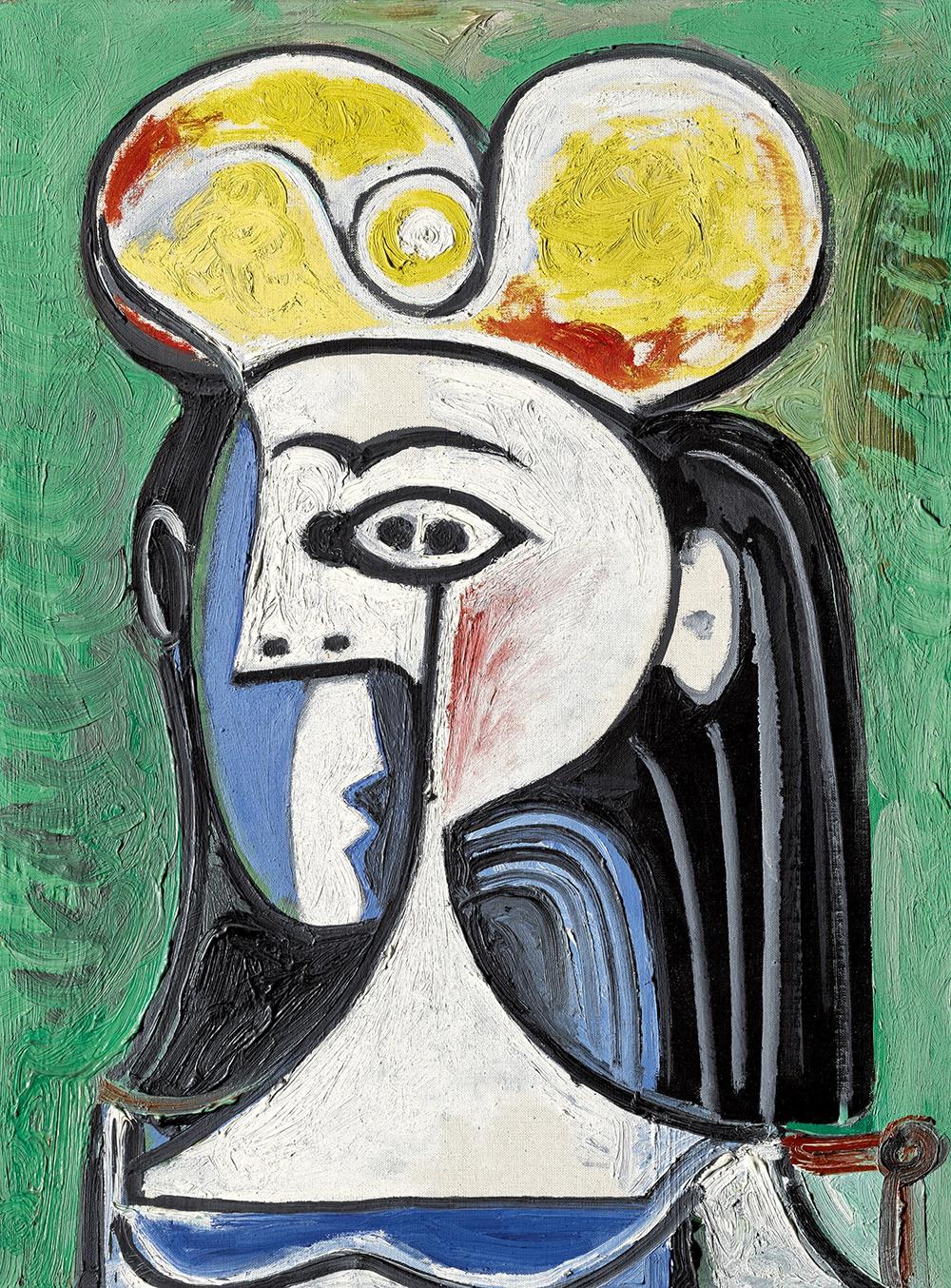 Pablo Picasso, 'Buste de femme assise',