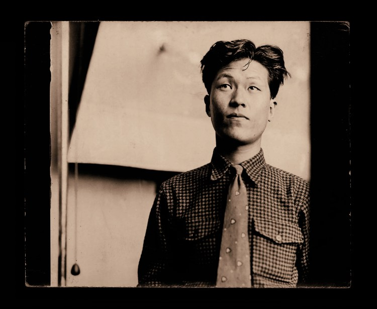Yoo Youngkuk in the late 1930s or early 1940s while in Japan.