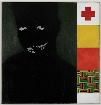 Kerry James Marshall, Silence is Golden, 1986.