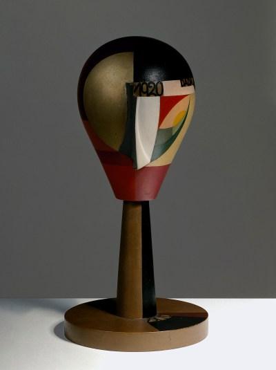 Sophie Taeuber-Arp, 'Dada Head', 1920.