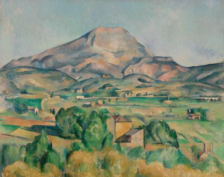 Paul Cézanne, 'Mont Sainte-Victoire (La Montagne Sainte-Victoire),' 1892–1895, oil on canvas.