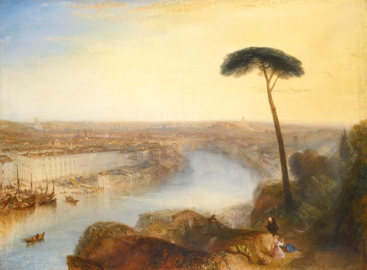 J. M. W. Turner, 'Rome, from Mount Aventine', 1836.