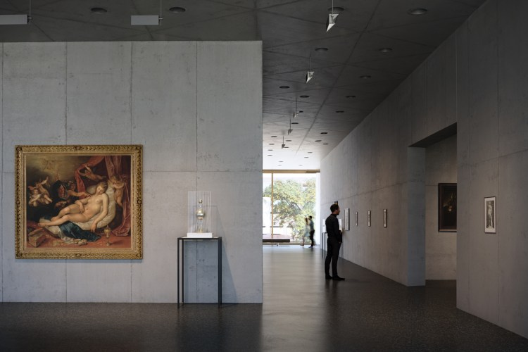 LACMA's planned Geffen Galleries building will have one level to show its holdings from various departments together, where varied art-historical periods and styles are sure to bump up against each other.