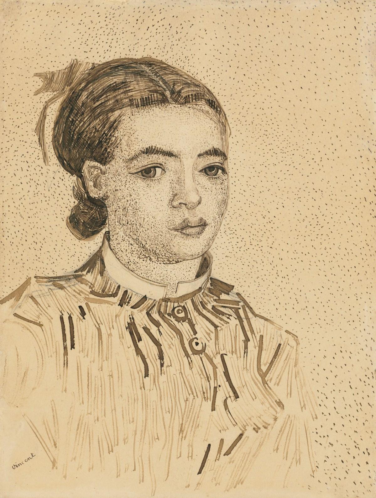 Vincent Van Gogh, La Mousme