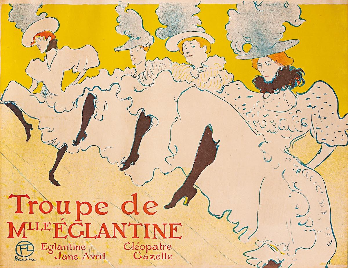 Henri de Toulouse-Lautrec, 'La Troupe de