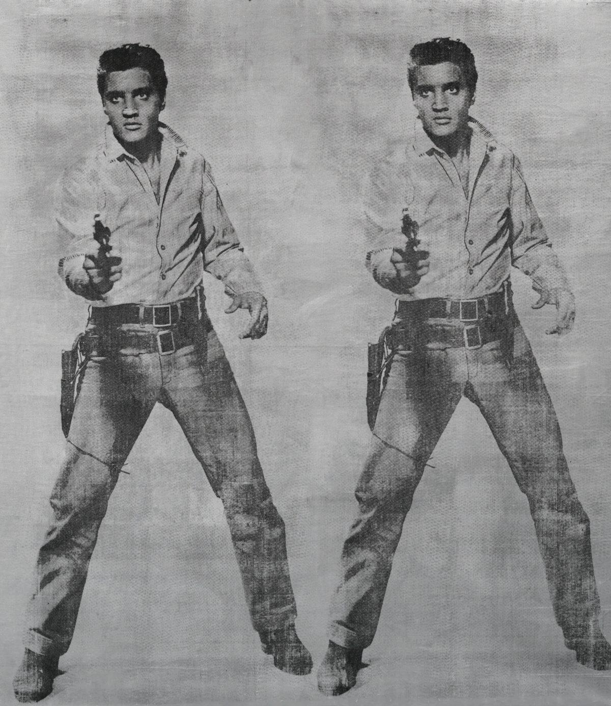 Andy Warhol, 'Elvis 2 Times', 1963.