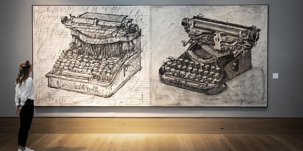 William Kentridge, Large Typewriters