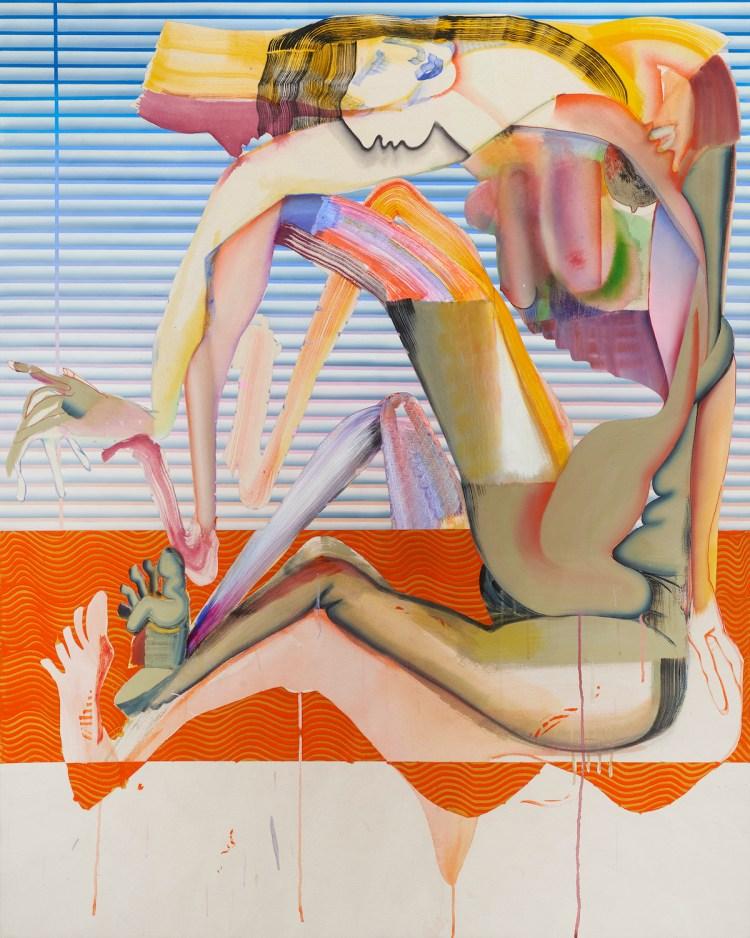Christina Quarles, 'Meet in tha Middle,' 2018.