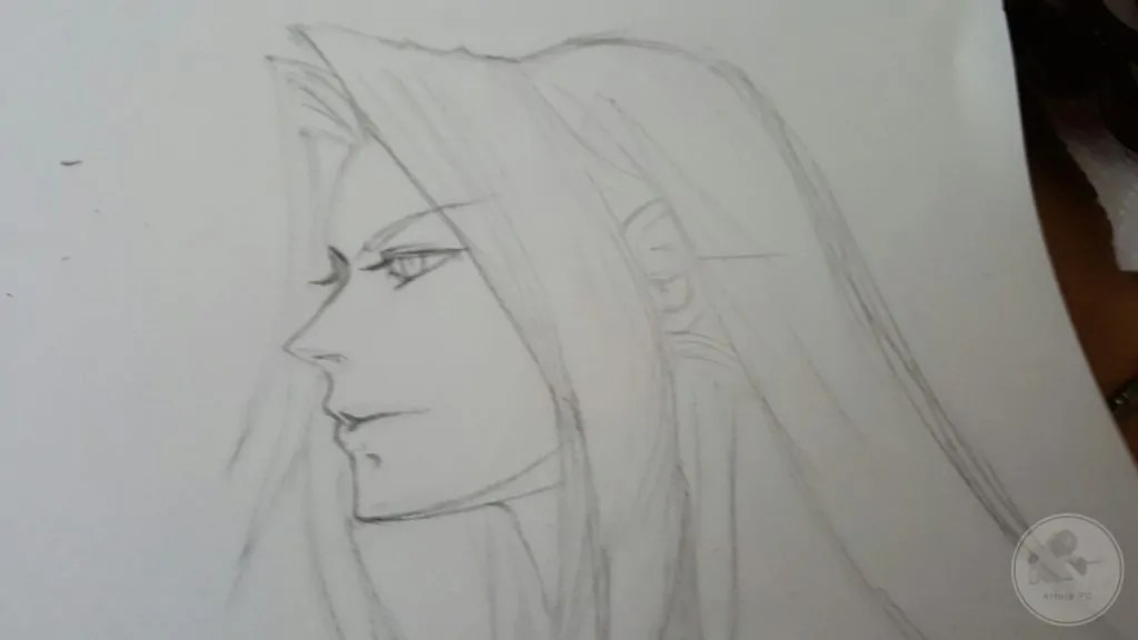Sephiroth - by Noms