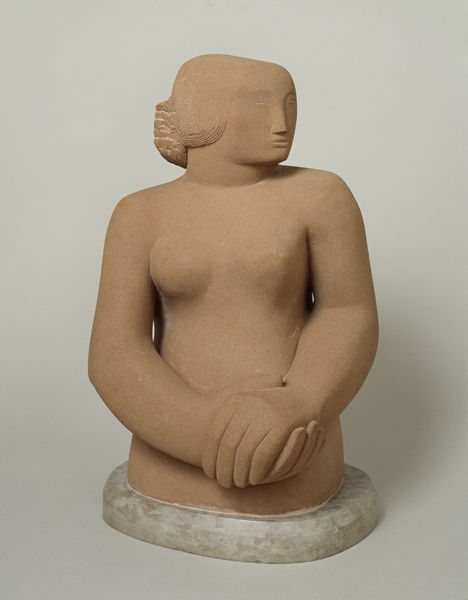 Barbara Hepworth - Figura di donna 1929-30 © Bowness -Tate London 2014