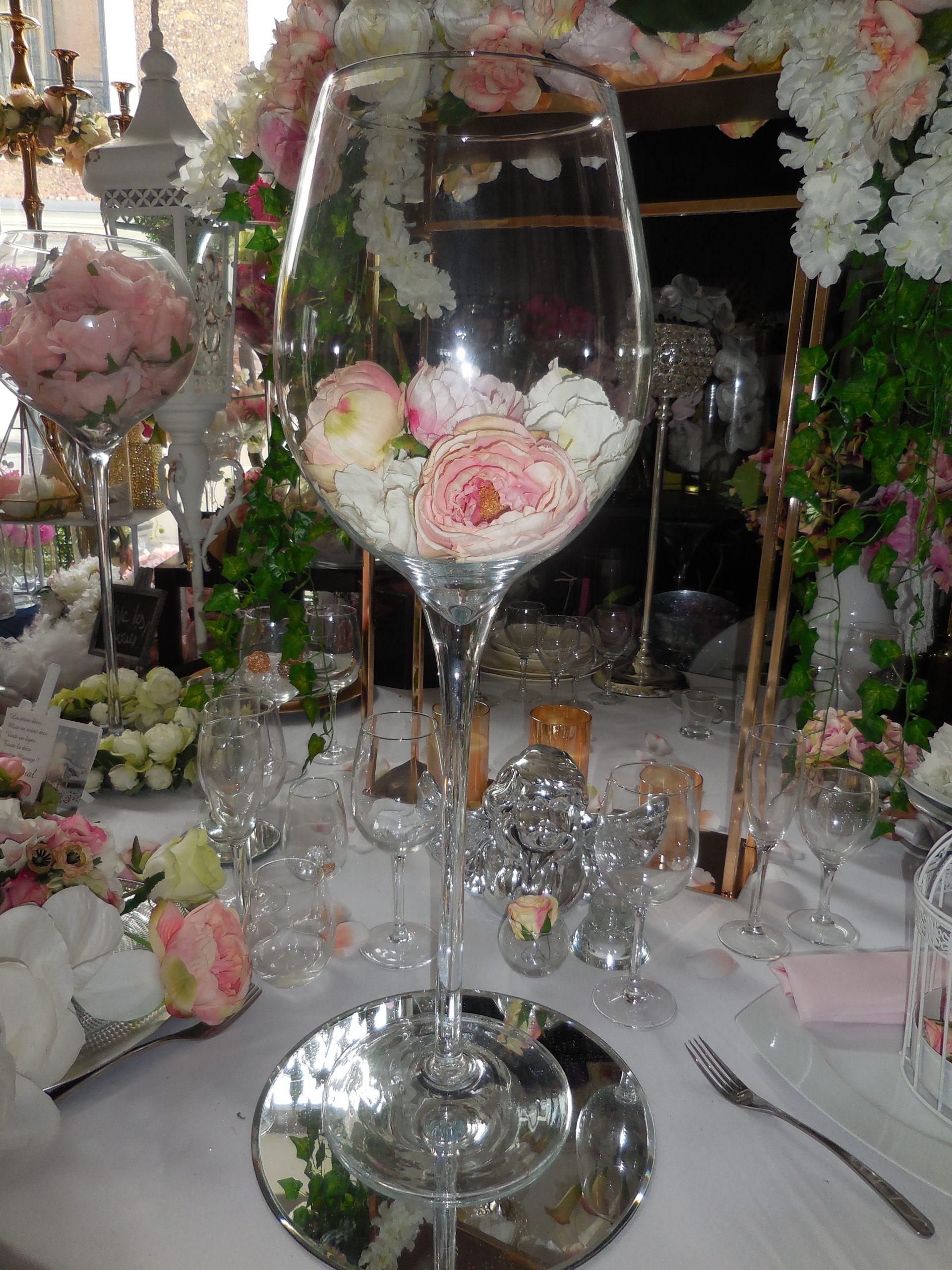 vase grand verre a vin geant xl h 69cm location deco mariage