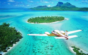 Bora Bora by plane,The Most Beautiful Island in the World, Beach, Island, Tahiti, Art of Adventure