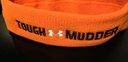 Tough Mudder, Tough Mudder orange headband