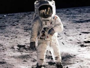 Neil Armstrong, first man on the moon, explorer