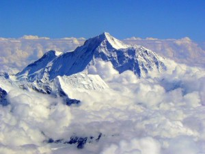 Mt. Everest, Because it's there, Sir Edmund Hillary