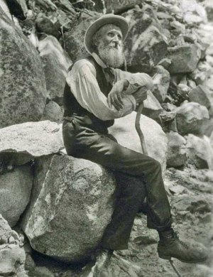 "John Muir also known as ""John of the Mountains"""