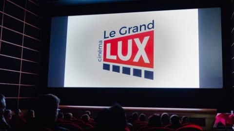 Agence communication Les Herbiers logo cinema le Grand Lux