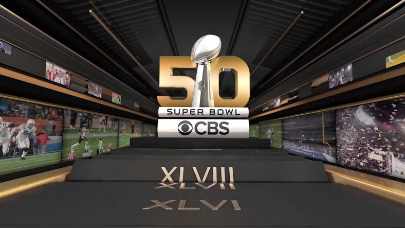 50th Superbowl on CBS Sports 2016