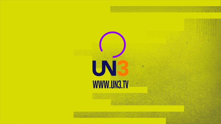 UN3 brand identity by Vacscolo