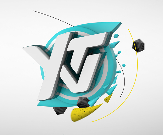 YTV channel branding by Eloisa Iturbe