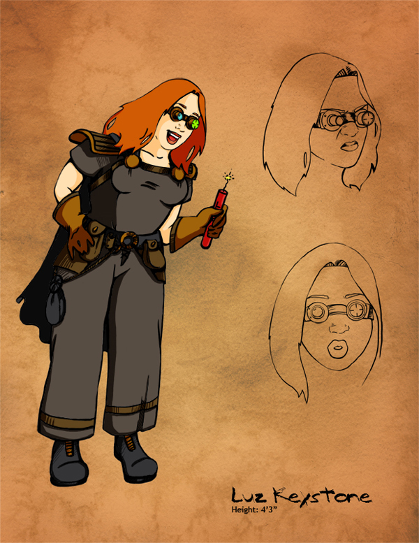 Luz Concept Sketch