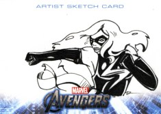 Ms. Marvel Sketchcard
