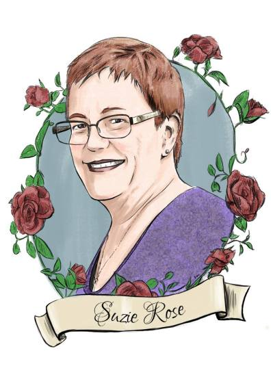 Suzie Rose Memorial Drawing