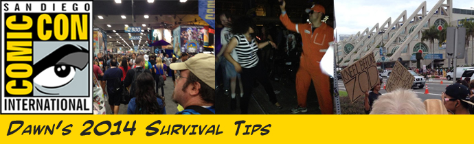 SDCC Survival Tips