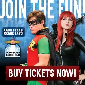 Long Beach Comic Expo tickets