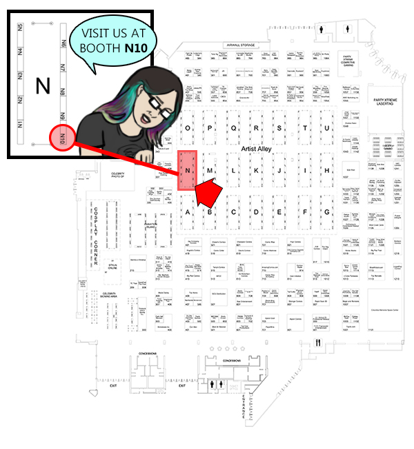 I will be at LBCC at Booth N10