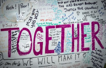 Coming together after tragedy