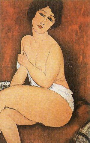 [Modigliani - art print, poster - La Belle Romaine]