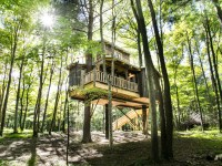 Penthouse In The Sky: 11 Luxury Tree Houses Across The USA