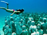 8 Breathtaking Underwater Museums Even Non-Divers Can Visit