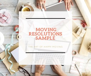 Moving Resolutions Sample_The Art of Happy Moving