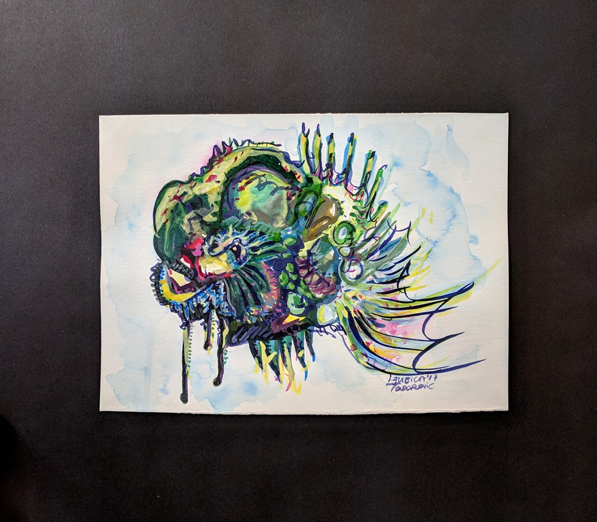 Abstract Fish - Front